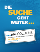Programmheft phil.cologne 2014