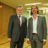 Historiker und Philosoph: Christopher Clark und Richard David Precht ©Ast/Jürgens