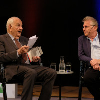 phil.cologne 2017: Alfred Grosser und Daniel Cohn-Bendit ©Ast/Juergens
