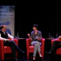 phil.cologne 2017: David Lauer, Simone Rosa Miller und Michael Pauen @Ast/Juergens