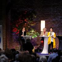 phil.cologne 2017: Lambert Wiesing, Bazon Brock, Eva Schuderer und Stefan Koldehoff ©Ast/Juergens