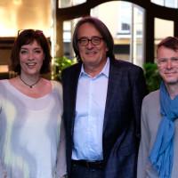 phil.cologne 2017: Ann-Marlene Henning, Gert Scobel und Matthias Gronemeyer ©Ast/Juergens