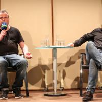 Marcus Steinweg und Wolfram Eilenberger ©Ast/Juergens