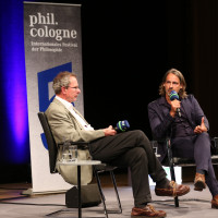 phil.cologne 2017: Christoph Jamme und Richard David Precht ©Ast/Juergens