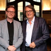 Markus Gabriel und Gert Scobel ©Ast/Juergens