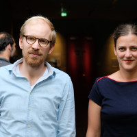 phil.cologne 2018: Rutger Bregman und Catherine Newmark © Ast/Juergens