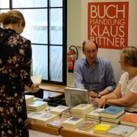 phil.cologne 2019: Klaus Bittner Büchertisch ©Ast/Juergens