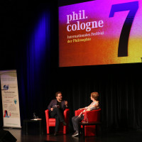 phil.cologne 2019: Wolfram Eilenberger und Sarah Bakewell ©Ast/Juergens