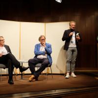 phil.cologne 2019: Gert Scobel, Harald Meller und Cai Werntgen (UKS Forum Humanum) ©Ast/Juergens