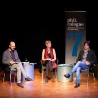 phil.cologne 2019: Florian Grosser, Eva von Redecker, Michael Hesse, Cai Werntgen ©Ast/Juergens