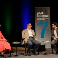 phil.cologne 2019: Verena Kast, Thomas Macho, Wolfram Eilenberger ©Ast/Juergens
