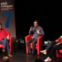 phil.cologne 2019: Bernd Stegemann, Florian Kessler und Philipp Hübl ©Ast/Juergens