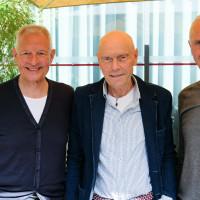 phil.cologne 2019: Ulrich Freiesleben, Paul Kohtes und Rainer Zimmermann von der Identity Foundation ©Ast/Juergens