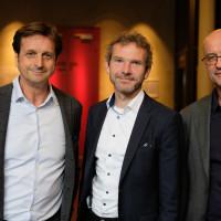 phil.cologne 2019: Stephan Grünewald, Joachim Frank  und Frank Biess ©Ast/Juergens