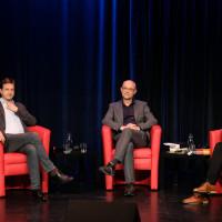 phil.cologne 2019: Stephan Grünewald, Frank Biess und Joachim Frank ©Ast/Juergens