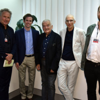 phil.cologne 2021: 05.09.: Cai Werntgen, Sam Ginn, Hans Ulrich Gumbrecht, Armen Avanessian, Tobias Bock ©Galuschka