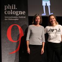 phil.cologne 2021: 06.09.: Miriam Holzapfel und Stefanie Saghri. ©Ast/Juergens