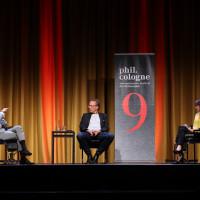 phil.cologne 2021: 06.09.: Michel Friedmann, Harald Welzer und Barbara Bleisch. ©Ast/Juergens