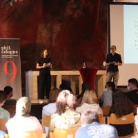 phil.cologne 2021: 08.09.: Isabelle Guntermann und Sascha Mühlenberg. ©Ast/Juergens