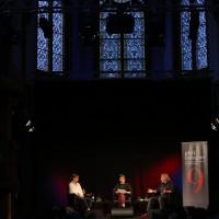phil.cologne 2021: 08.09.: Carolin Wiedemann, Stephanie Rohde und Klaus Theweleit. ©Ast/Juergens