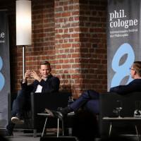 philcologne 2020: Hendrik Streeck und Markus Gabriel ©Ast/Juergens