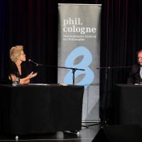 philcologne 2020: Svenja Flaßpöhler und Peter Sloterdijk ©Ast/Juergens