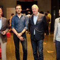 philcologne 2020: Dr. Ulrich Freiesleben (Identity Foundation ), Yves Bossart, Matthias Horx und Paul J. Kohtes ©Ast/Juergens