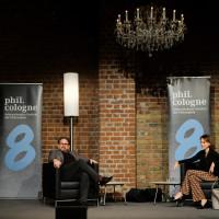 philcologne 2020: Wolfram Eilenberger und Barbara Bleisch ©Ast/Juergens